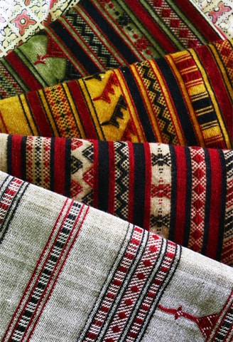 An eye-catching collection of shawls