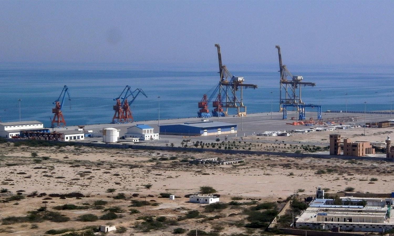 چین کی بحری شاہراہ ریشم میں گوادر کی بہت زیادہ اہمیت ہے — اے ایف پی فائل فوٹو