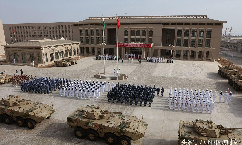 جبوتی میں چین کی پہلی غیرملکی فوجی بیس کی افتتاحی تقریب— اے ایف پی فائل فوٹو