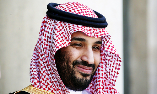 Saudi crown prince includes Turkey, Iran in his definition of 'axis of evil'
