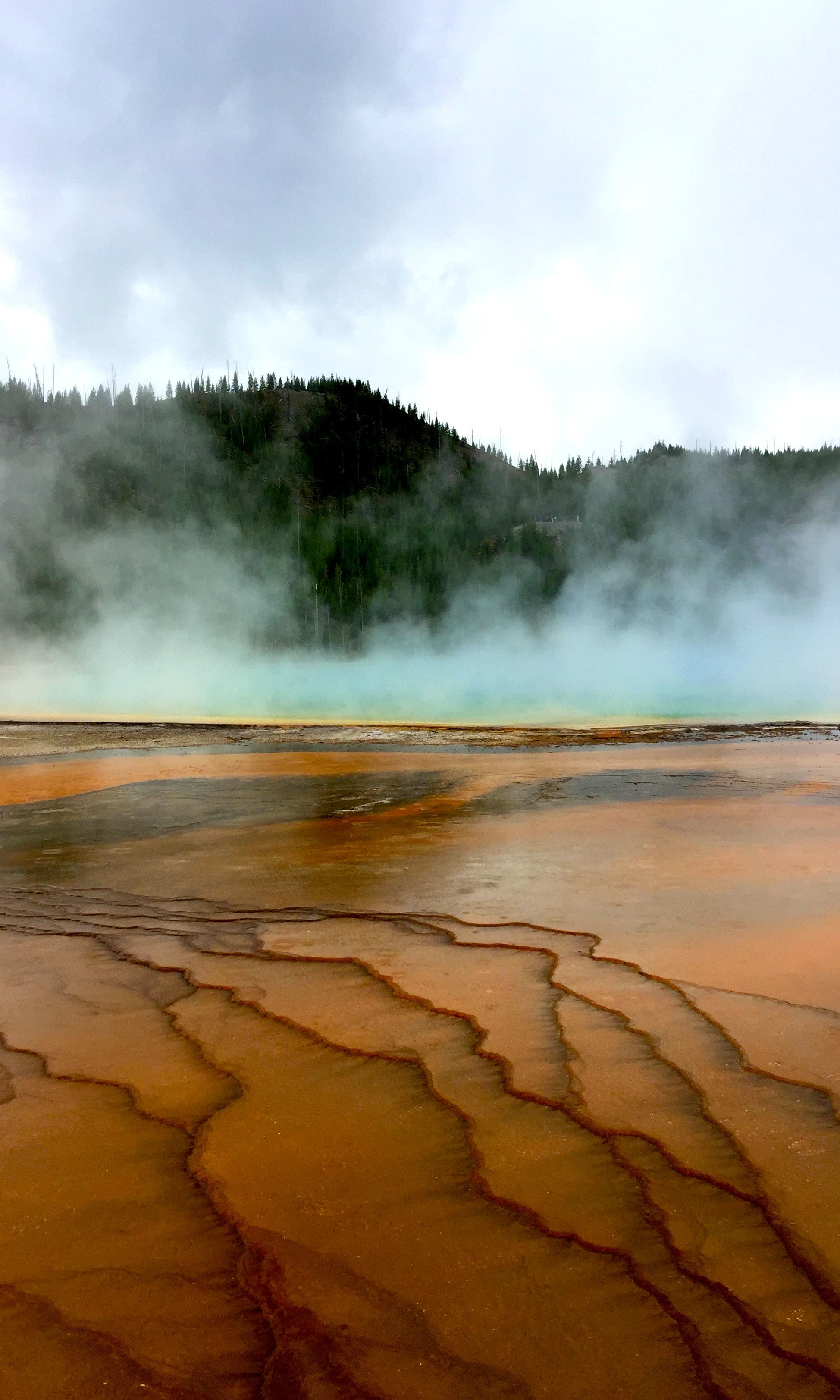 Geothermal phenomenon. —Hassan Majeed