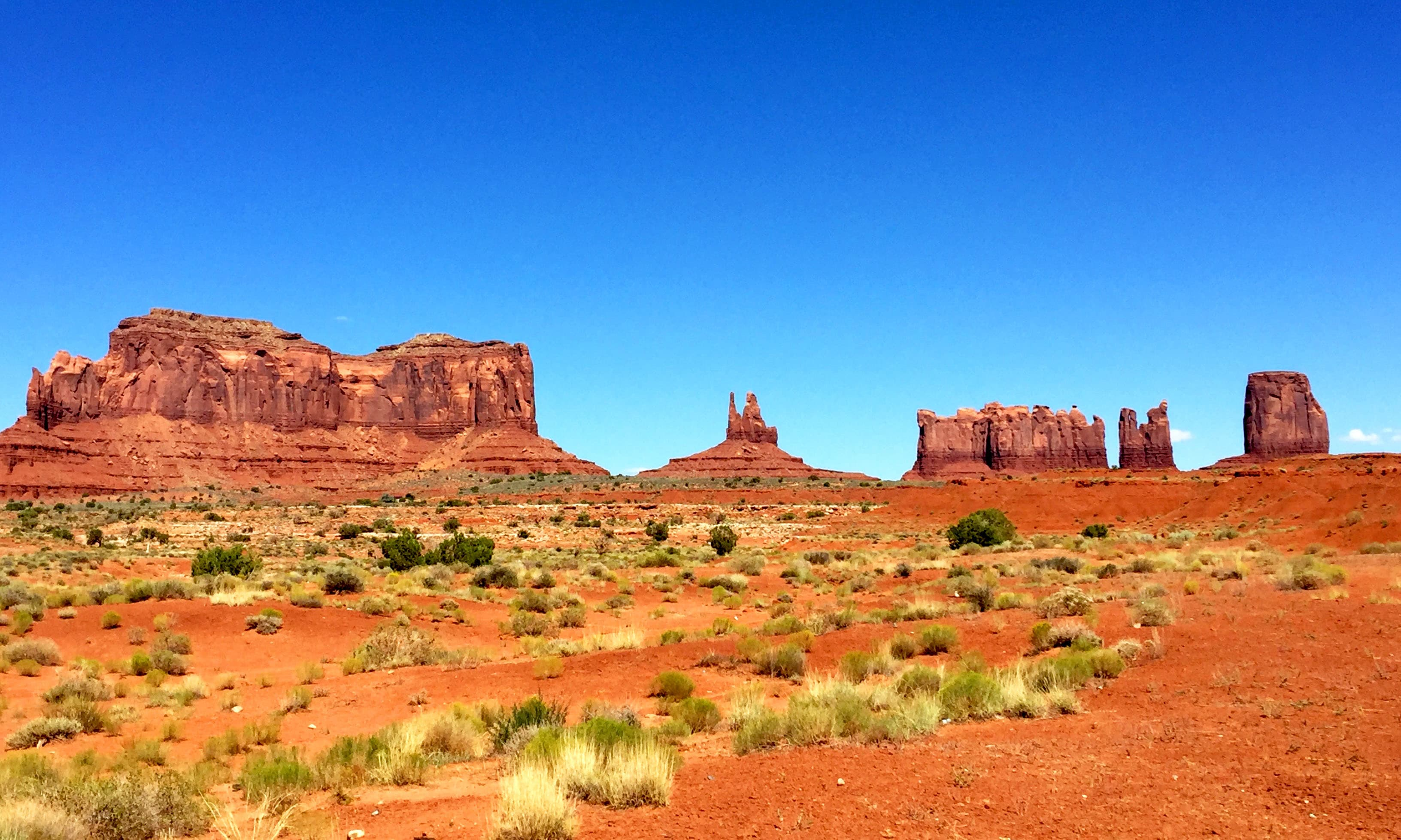 Monument Valley. —Hassan Majeed