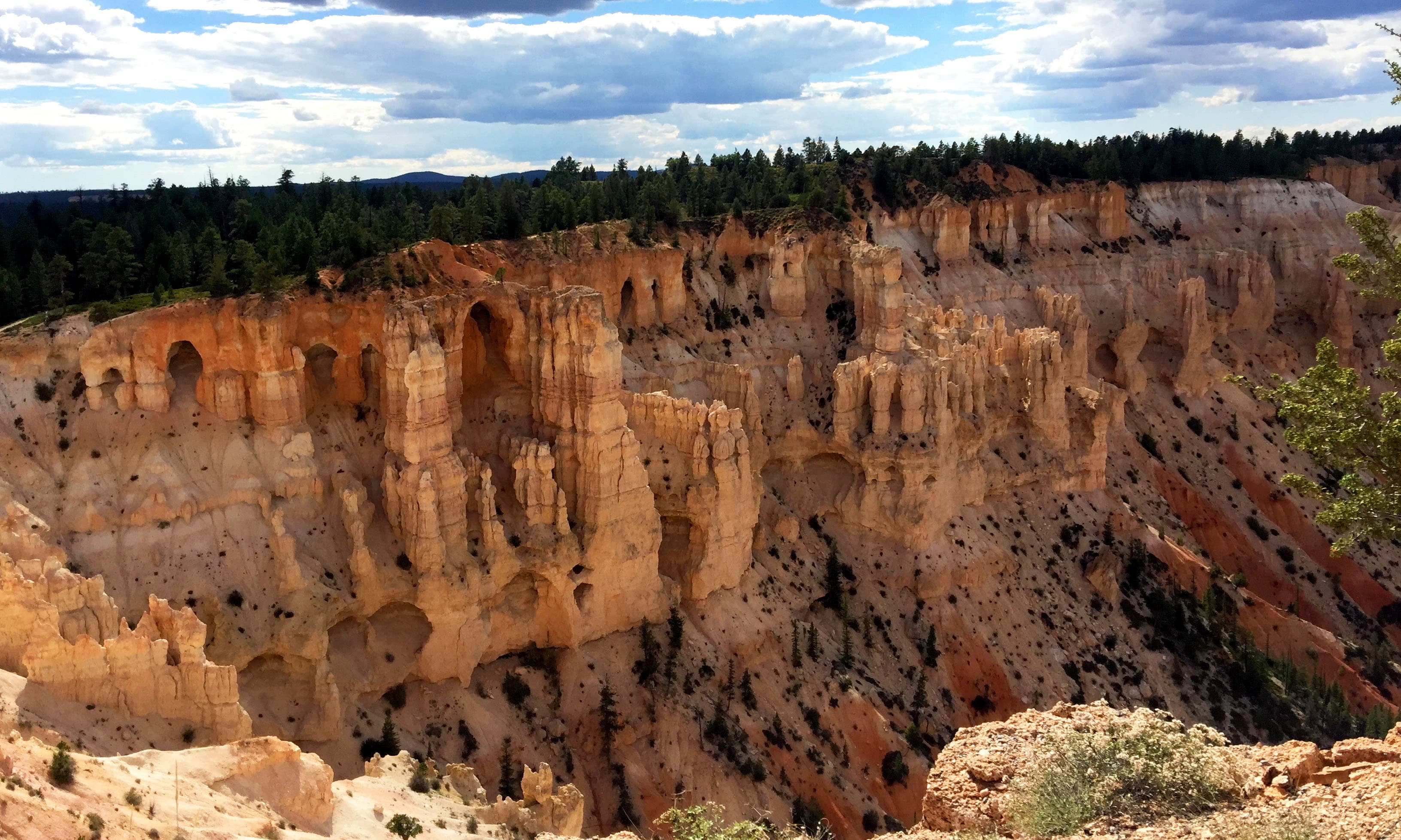 These caves in Bryce Canyon reminded me of Bamiyan. —Hassan Majeed