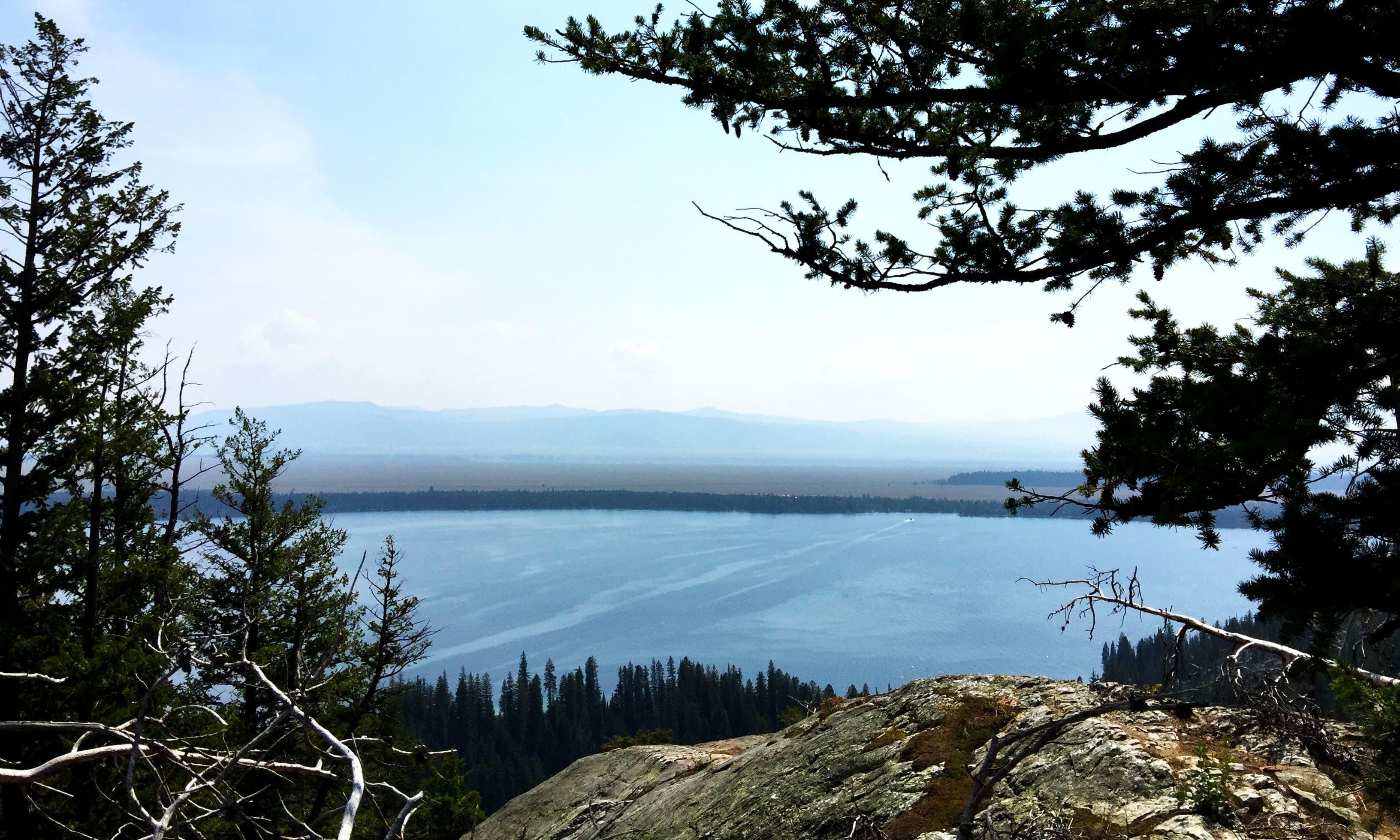 Jenny Lake from above. —Hassan Majeed