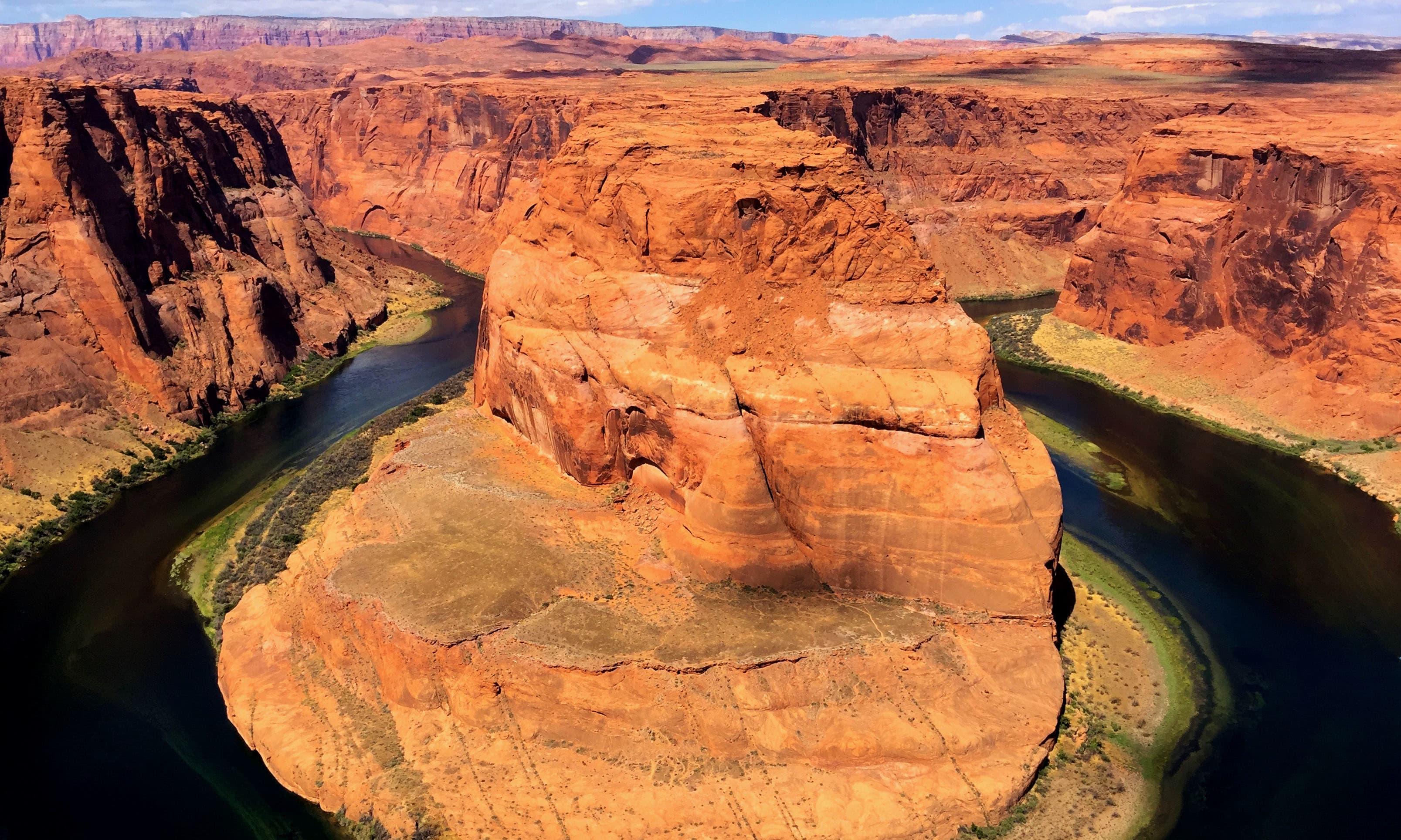 Horseshoe Bend, Colorado River. —Hassan Majeed