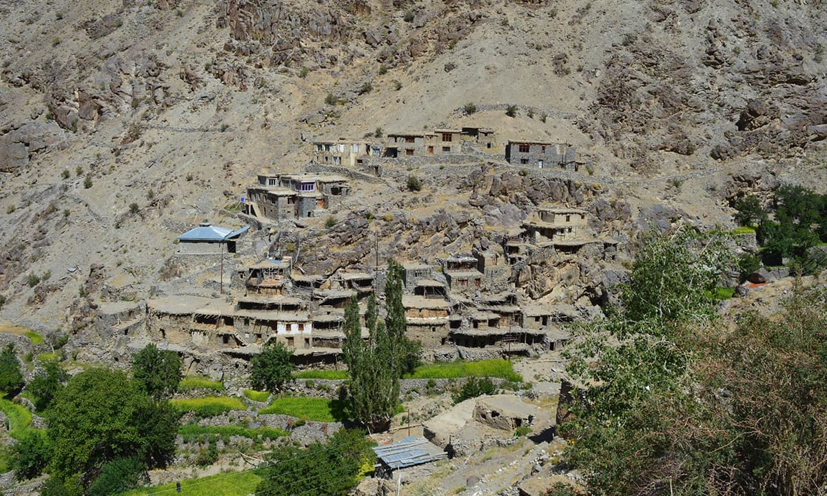 Hunderman Brok village, near the Line of Control in the Kargil district | Raqib Hameed Naik
