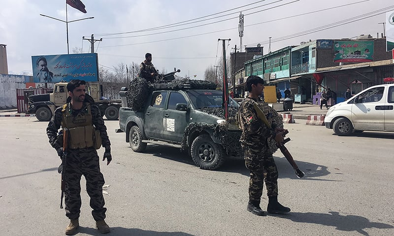 At least nine killed in Kabul suicide bombing