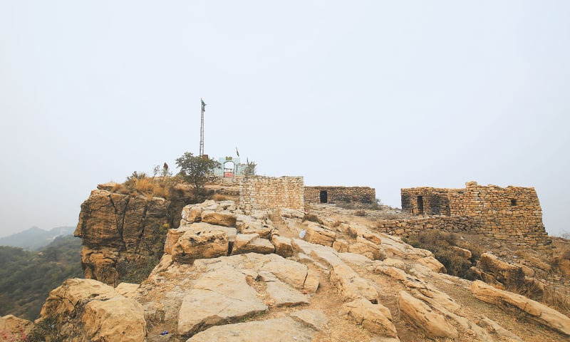 The peak of Chehel Abdal | Photo by the writer