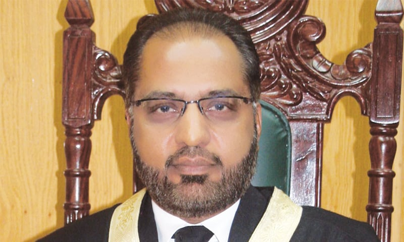 JUSTICE Shaukat Aziz Siddiqui commends Senator Raja Zafarul Haq for authoring the report on the change of declaration related to finality of Prophethood.