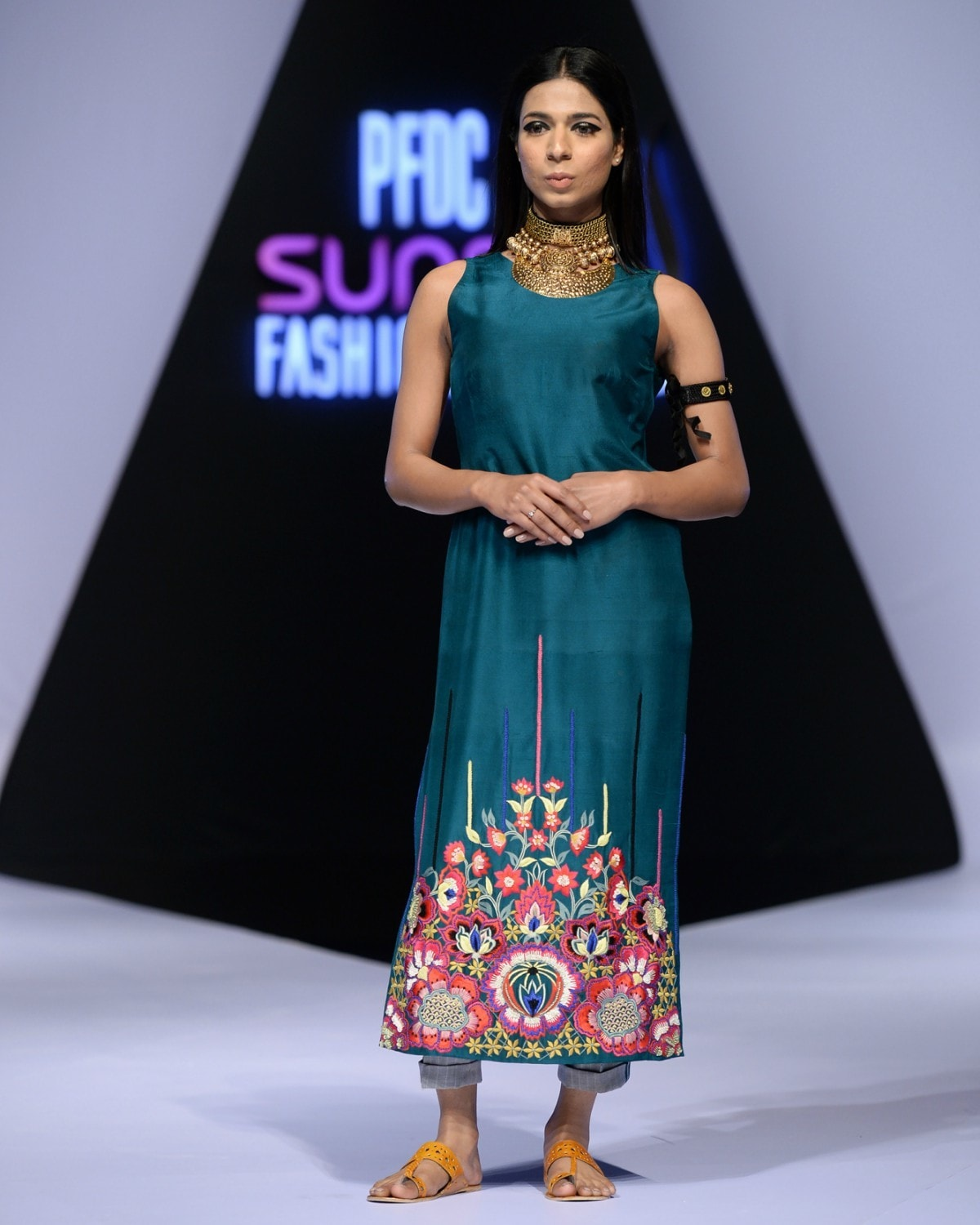 Marvia made her runway debut at the recently held PSFW in Lahore
