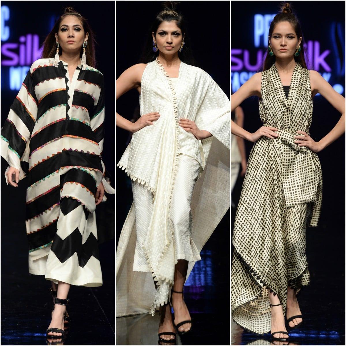 Sania Maskatiya's 'Colour Dash' bore the designer's signature through and through