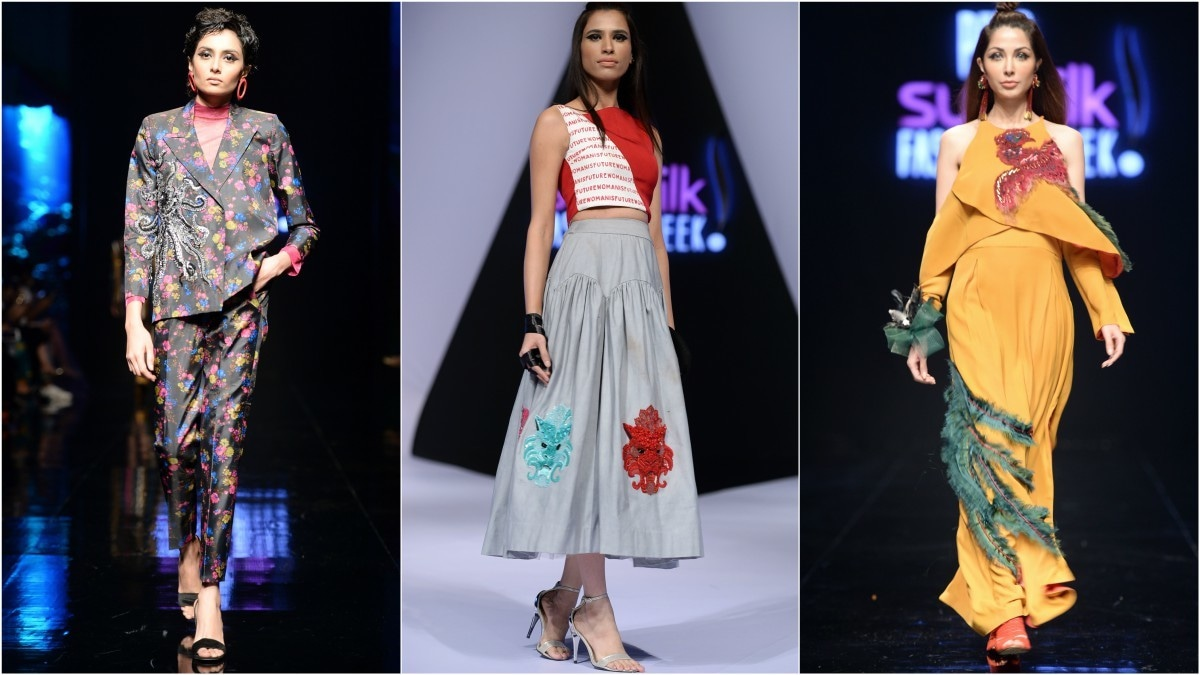 First-time designers didn't disappoint on Day 1 of PFDC Sunsilk Fashion Week