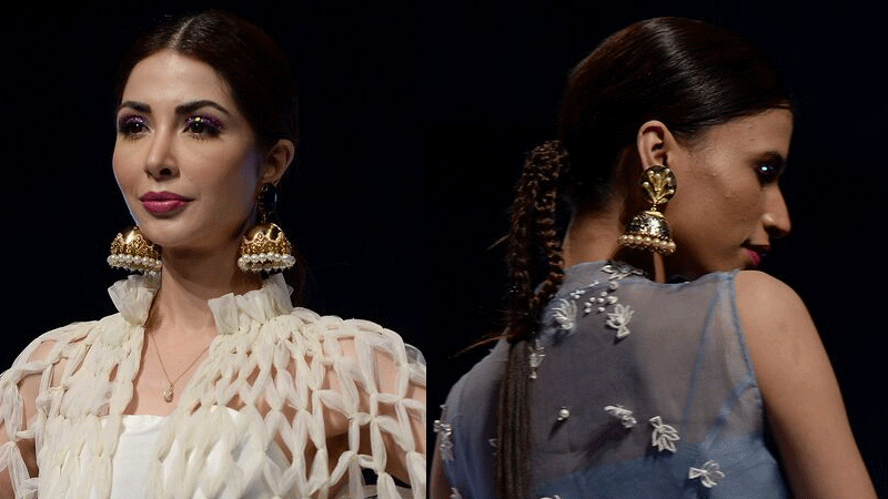 Esfir Jewels complemented Nida Azwer's collection brilliantly.
