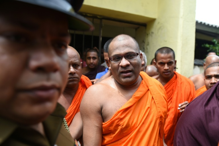 Sri Lankan Buddhist monk Galagodaatte Gnanasara is on bail facing hate speech charges and insulting the Koran, one of a number of prominent Buddhist clergy in Asia who espouse anti-Muslim rhetoric. ─ AFP