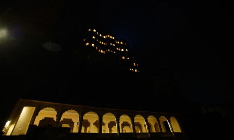 جودھپور کی رات—فوٹو: امیتابھ بچن بلاگ پوسٹ