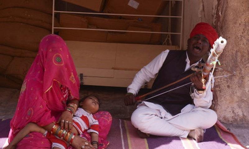 امیتابھ بچن کی جانب سے راجستھان کی شیئر کی گئی تصویر—فوٹو: امیتابھ بچن بلاگ پوسٹ