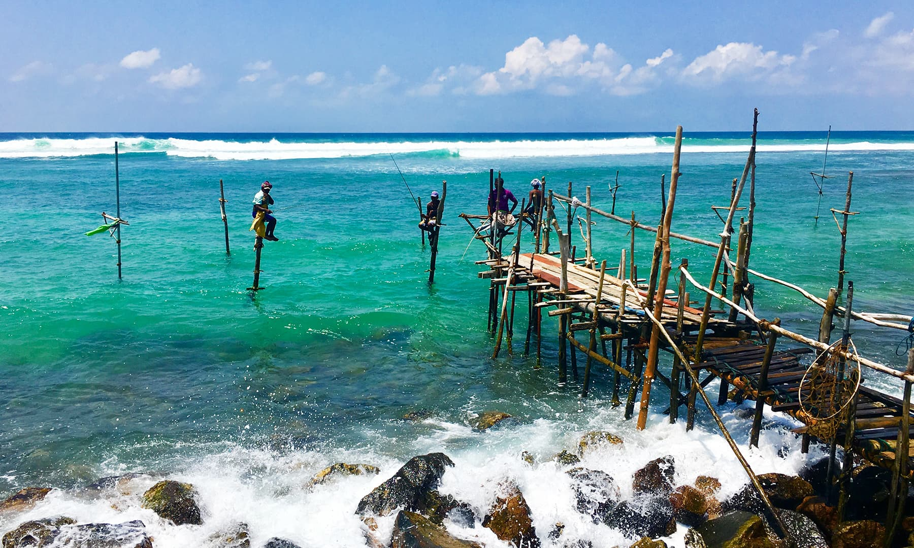سری لنکا کا ایک ساحلی کنارہ—تصویر امتیاز احمد