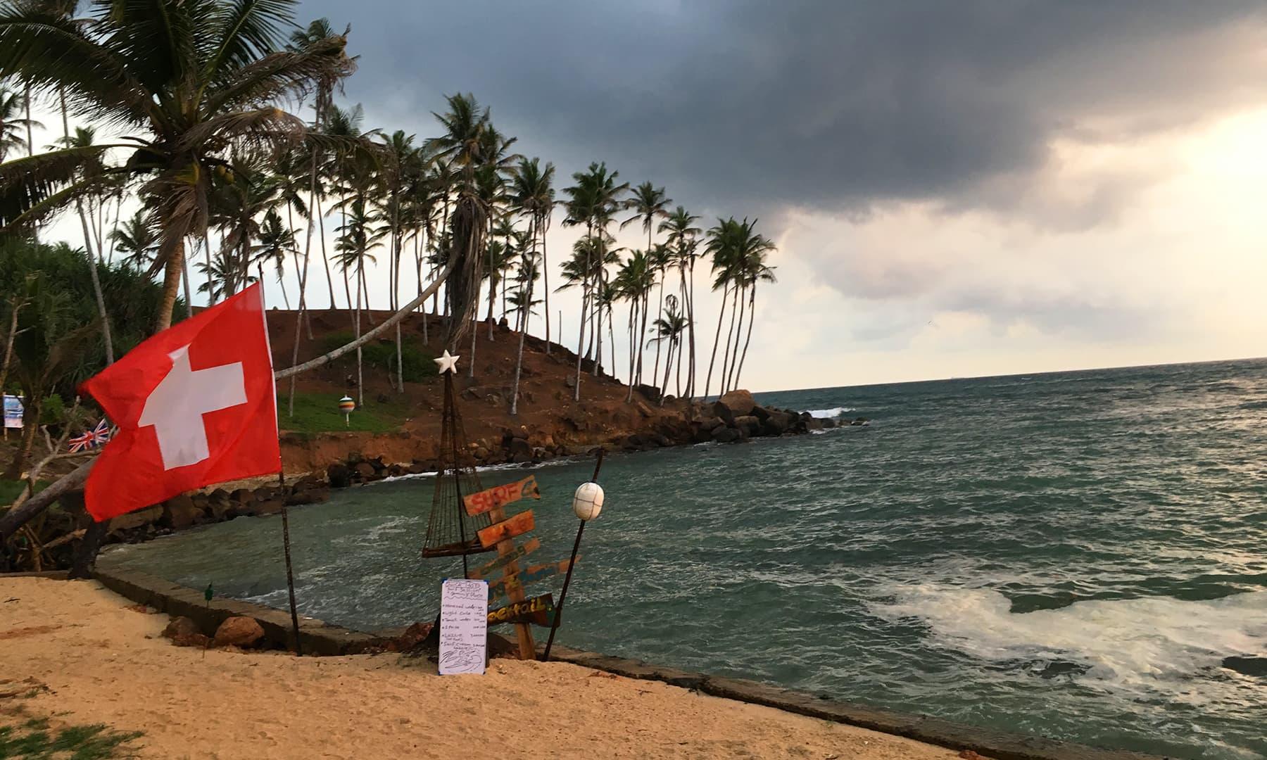 یہ پوری ساحلی پٹی انتہائی خوبصورت ہے اور ہر چند کلومیٹر بعد ایک دلفریب بیچ نظر آتا ہے—تصویر امتیاز احمد