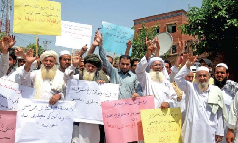 Pakhtun protest leaders booked in Balochistan
