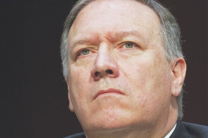 MIKE Pompeo, named successor to ousted secretary of state Rex Tillerson.—AP
