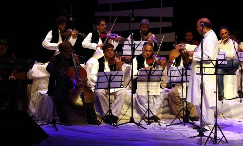 La Koi Naghma Koi Saut is the festival's grand finale