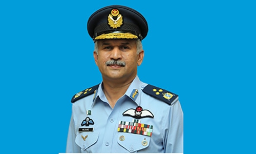 Air Marshal Mujahid Anwar Khan designated new chief of air staff