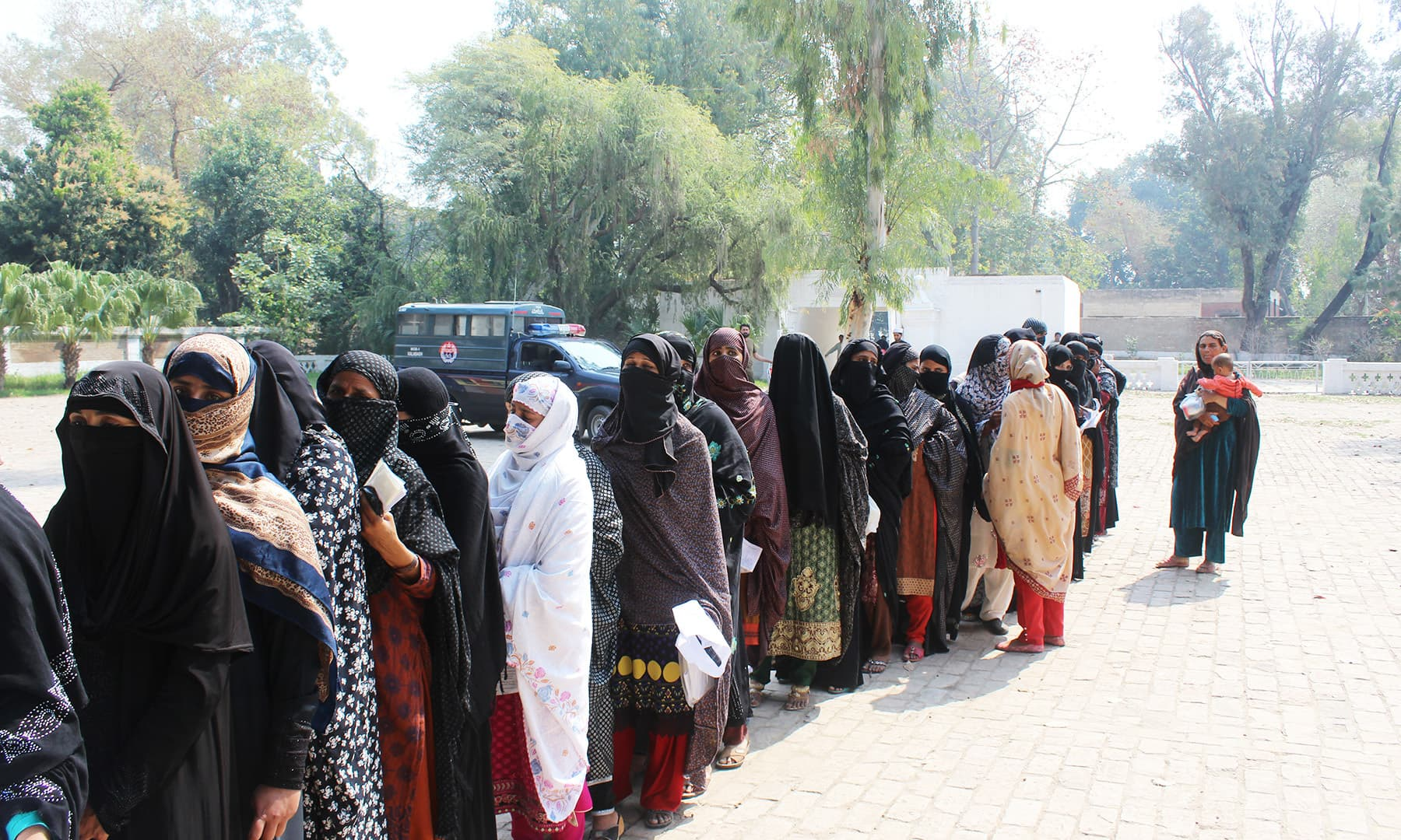 How will the women from Mianwali who do not have CNICs vote in the upcoming election?