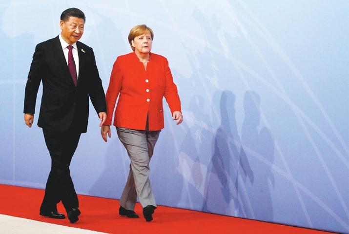 مرکل  نے بہت سرگرمی سے یورپ اور جرمنی کا تعاون بڑھانے کے لیے کام کیا—رائٹرز