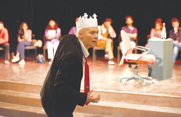 EMILY Carding plays Richard III on Sunday at Napa.—Tahir Jamal / White Star