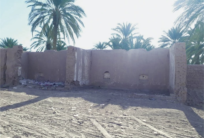 ONE of the houses damaged in the Mashkel earthquake in 2013 has not yet been repaired.—Photo by writer