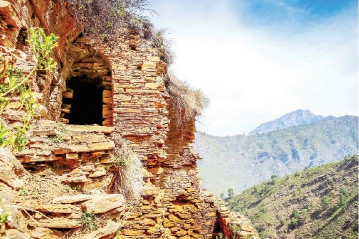 A Gandharan monastic settlement at Tokar-dara in Barikot, Swat. — Dawn