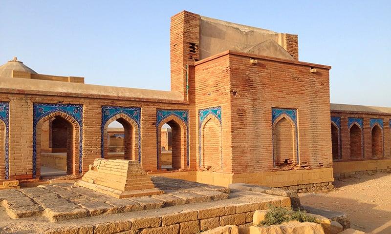 3 اکتوبر 1585ء کو مرزا باقی اس دنیا سے رخصت ہوئے—تصویر ابوبکر شیخ