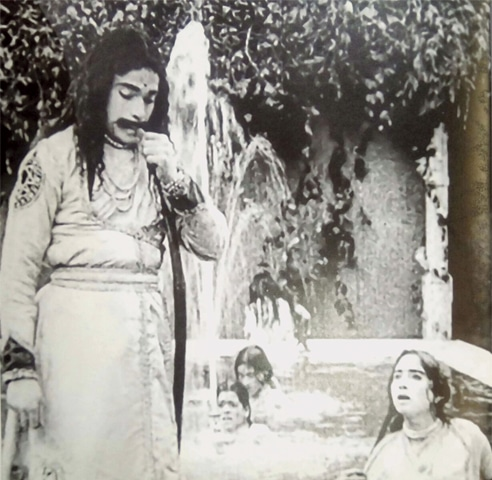 One of the first films produced in the subcontinent was Raja Harish Chandra in 1913. Conservative times required that female characters be played by male actors