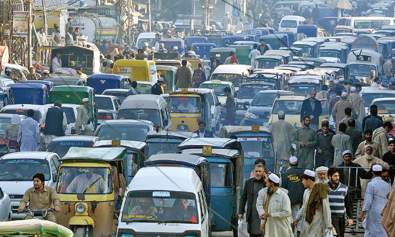 BRT project causes traffic nightmare