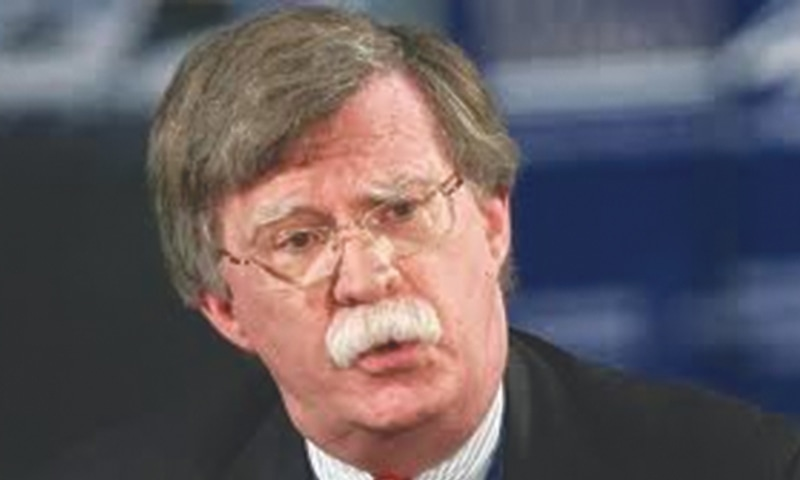 JOHN Bolton has been chosen by US President Donald Trump as his next national security adviser.—AFP