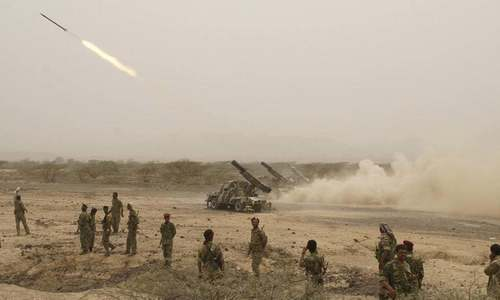 Saudis intercept seven Yemeni rebel missiles in deadly escalation