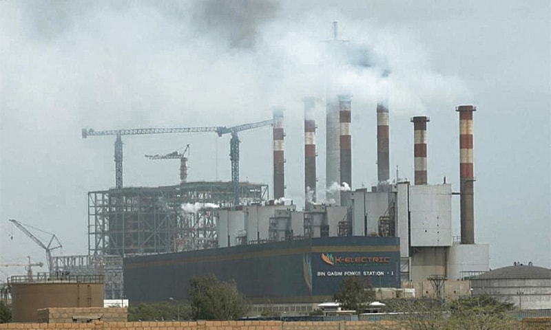 General view of the K-Electric's Bin Qasim Power Plant.—Reuters