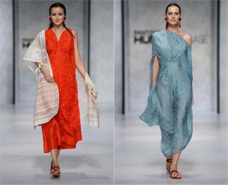 Clean lines and minimal designs by Misha Lakhani were a hit