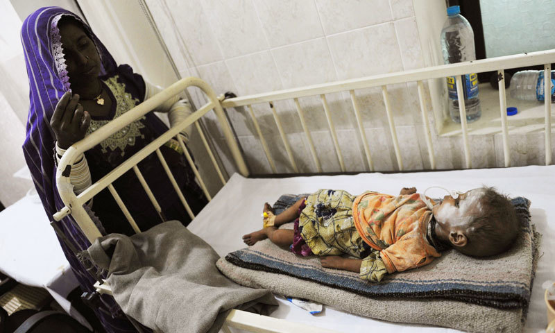 6 more infants die in Thar due to viral infections and malnutrition