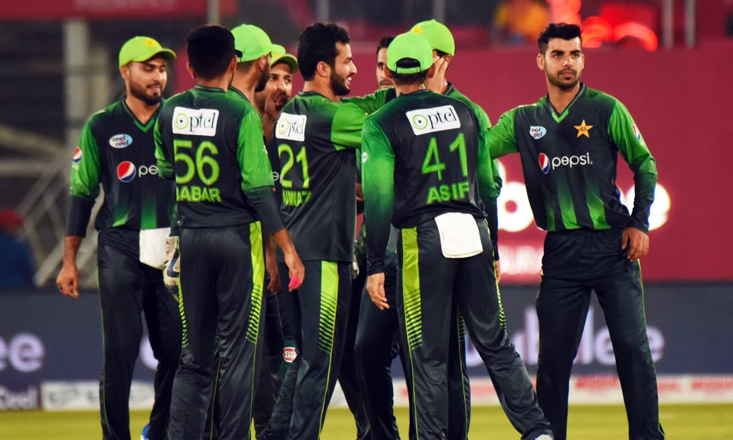 Pakistan set a mammoth 204-run target for the visitors. —PCB