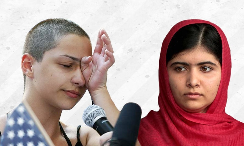 What Malala and the survivors of Florida gun shooting share in common