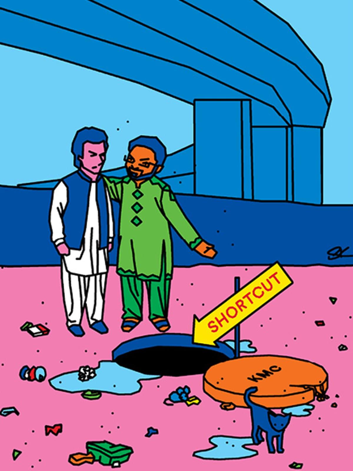 Illustration by Saad Khurshid