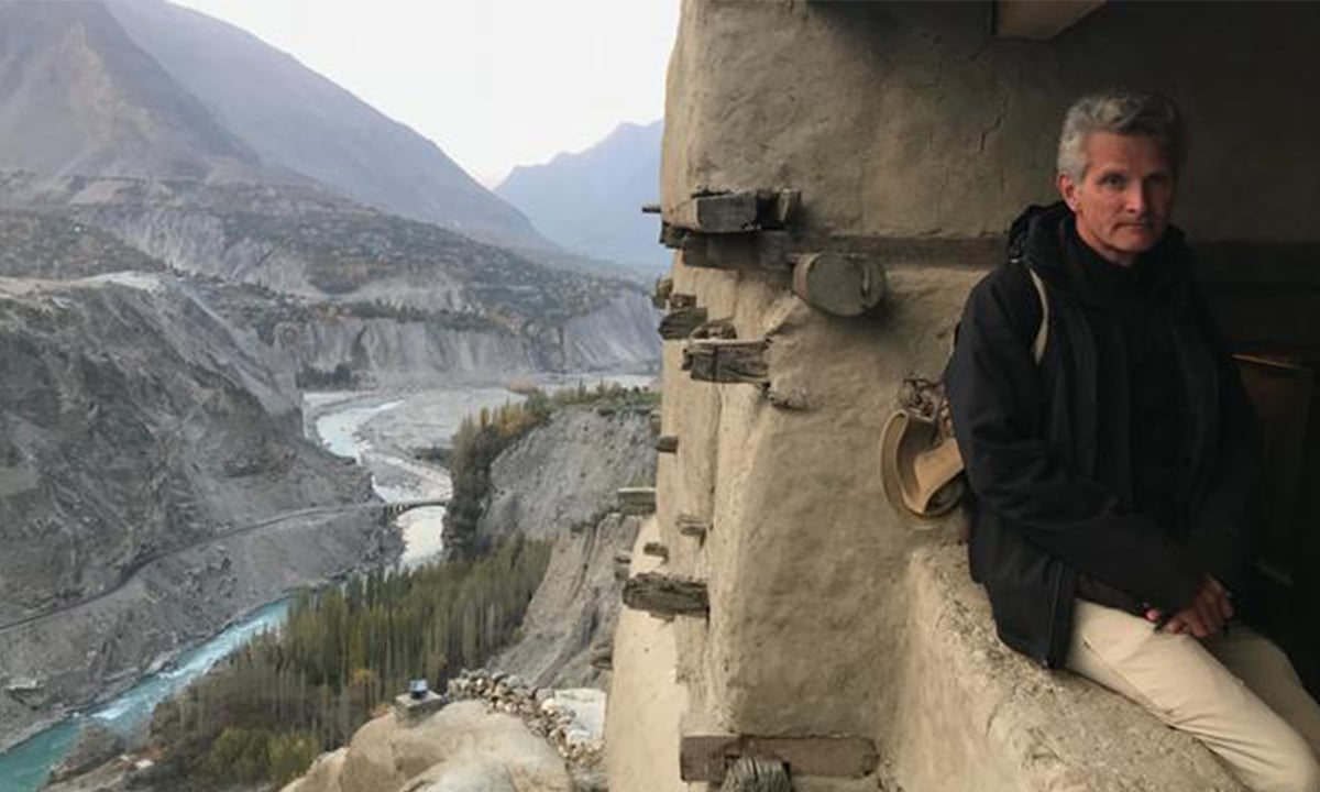 Paul Salopek in Hunza Valley in Pakistan | Photo by Paul Salopek