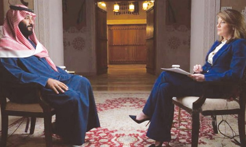 SAUDI Arabia's Crown Prince Mohammed Bin Salman is interviewed on 60 Minutes by Norah O'Donnell.