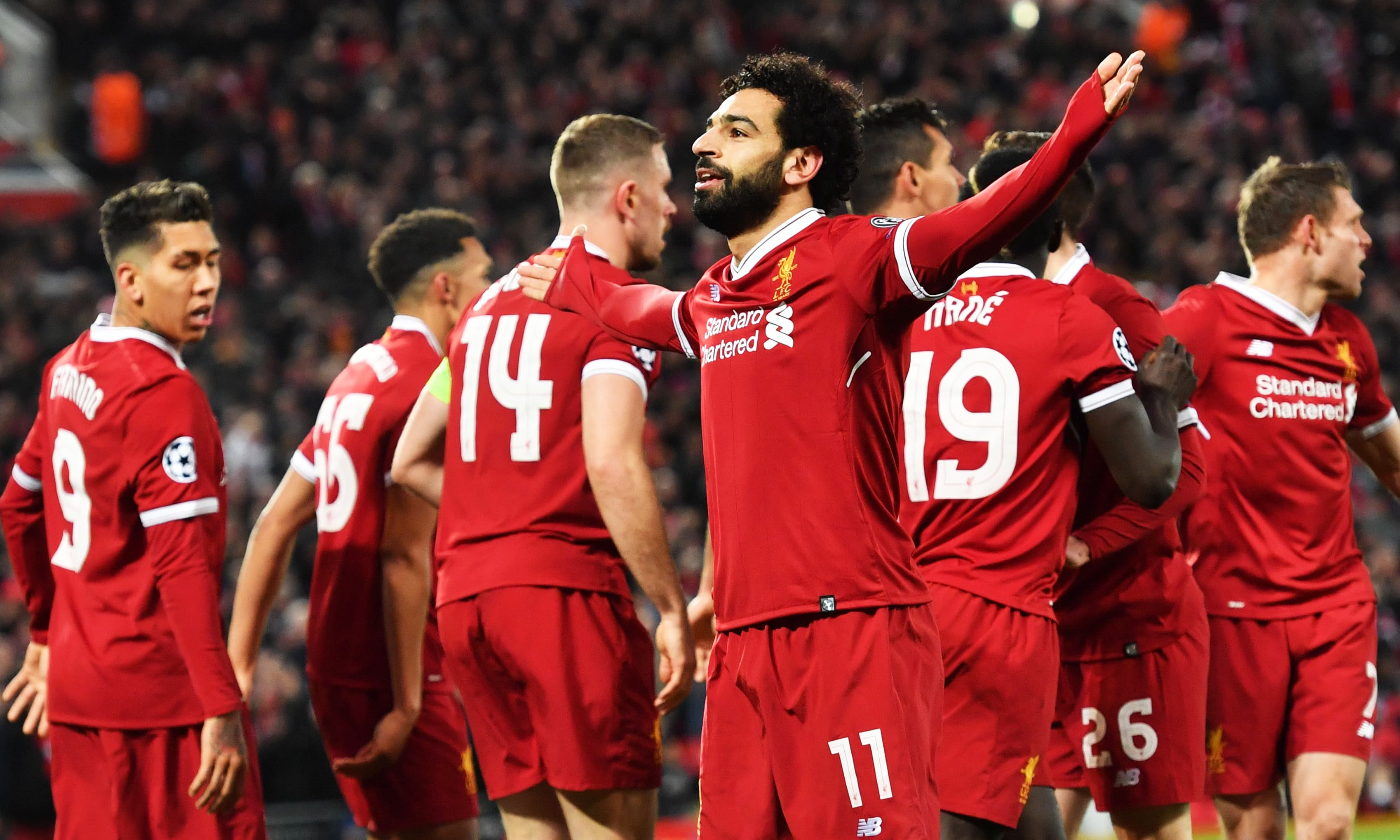 Liverpool blows away Man City in 3-0 win in CL quarterfinals