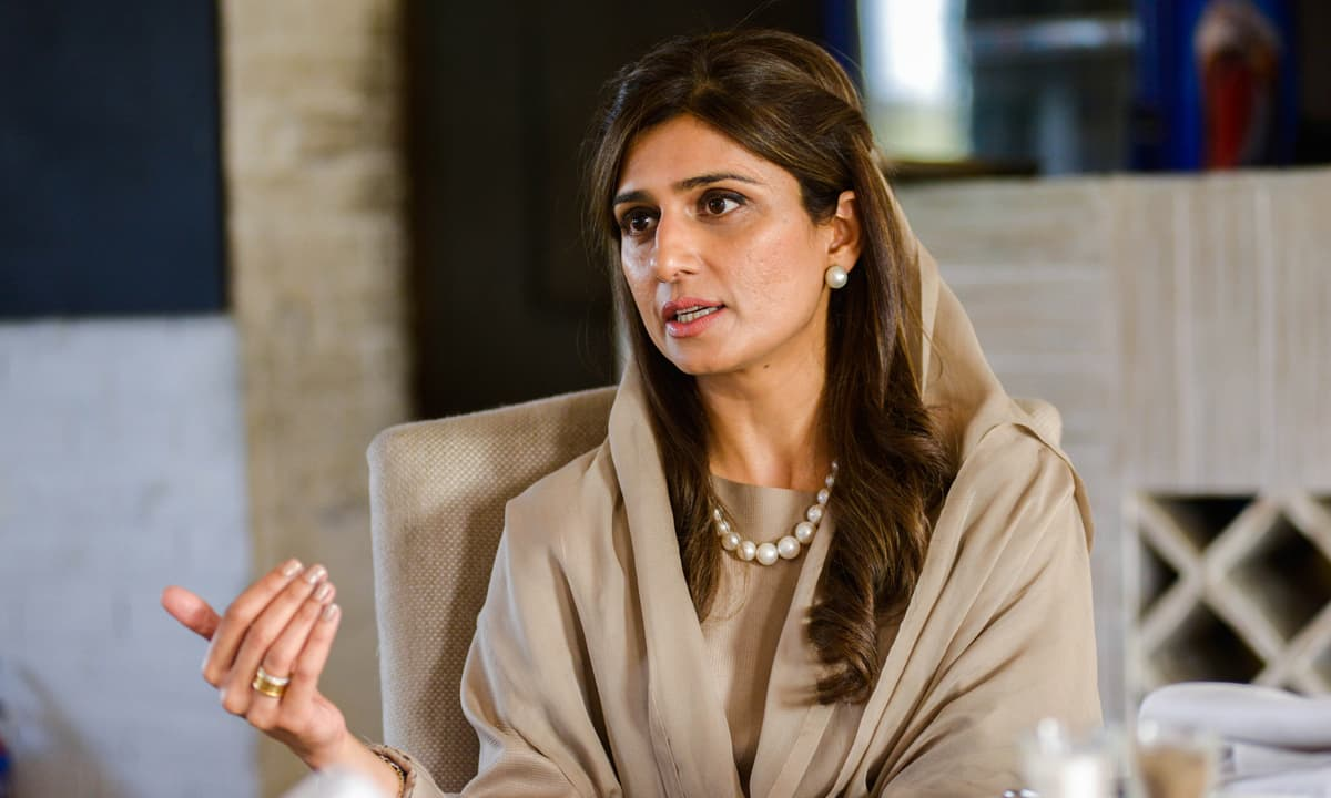 A lot of things happen in politics by chance: Hina Rabbani Khar