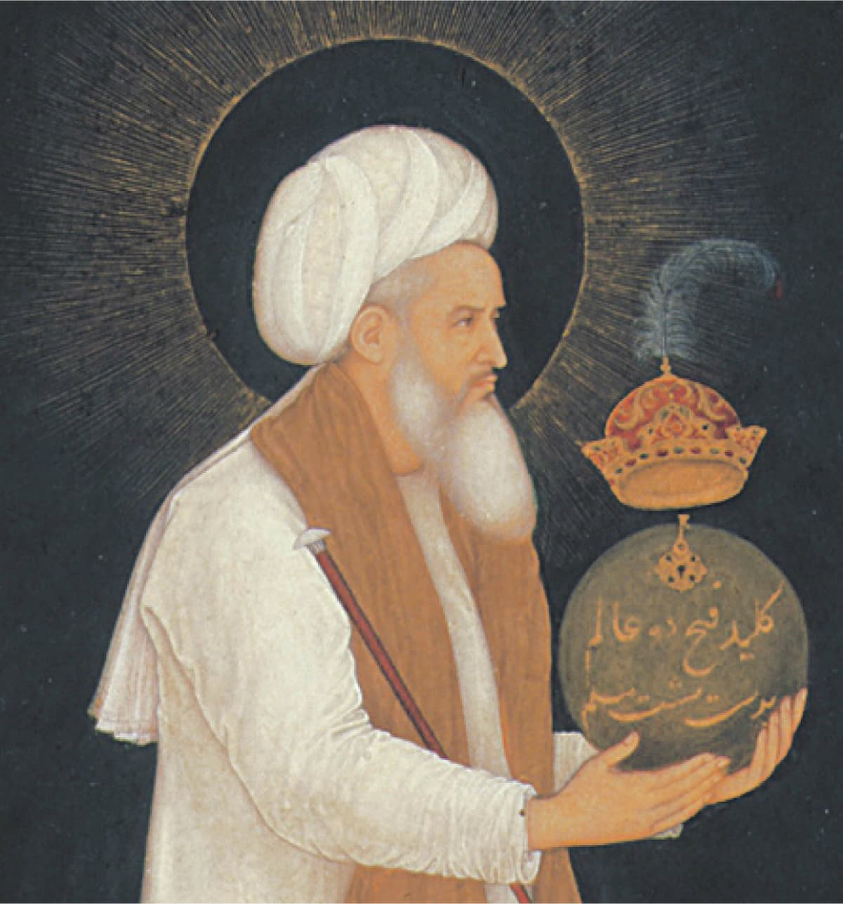 Shaikh Moeenuddin Chishti Ajmeri  | Courtesy trustees of the Chester Beatty library, Dublin