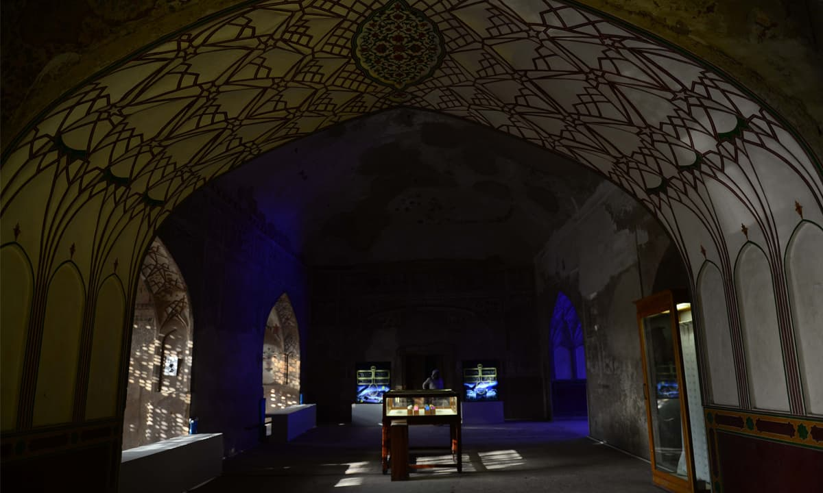 A Lahore Biennale exhibit at the Summer Palace, Lahore Fort | Photos by Murtaza Ali, White Star