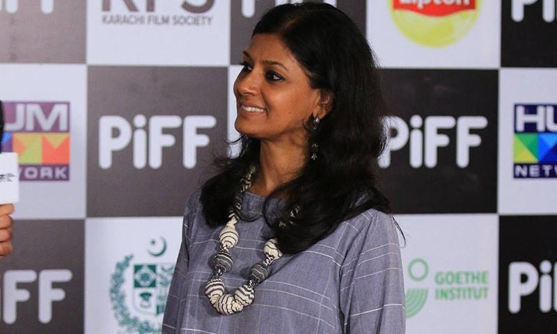 نندیتا داس پاکستان انٹرنیشنل فلم فیسٹیول میں شرکت کی غرض سے پاکستان آئی ہوئی تھیں