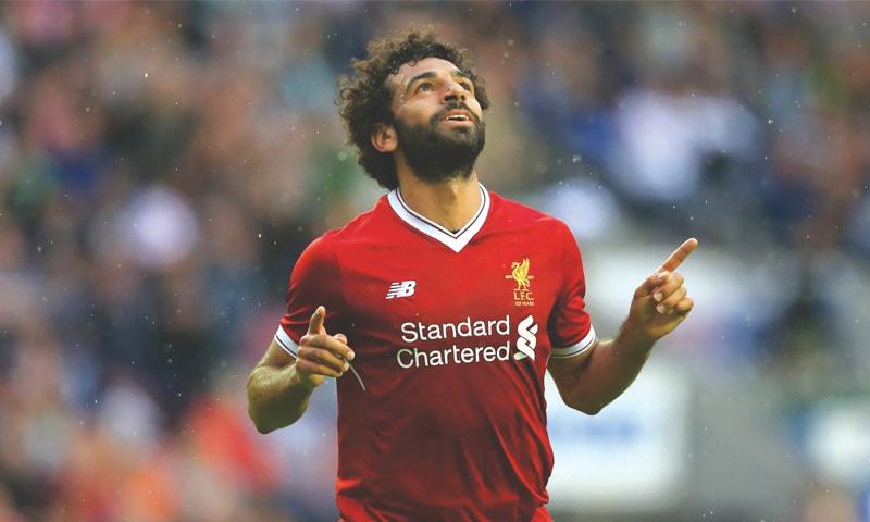 Egyptian striker Mohamed Salah